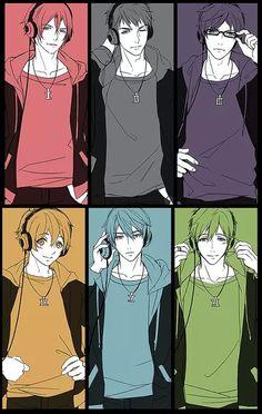 Rin, Sosuke, Rei, Nagisa, Haruka and Makoto Makoto Tachibana, Makoharu, Anime Love, Anime Guys, Otaku, Splash Free, Free Eternal Summer, Free Iwatobi Swim Club, Free Anime