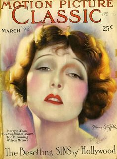 Corinne Griffith - Motion Picture Classic Magazine [United States] (March 1928)