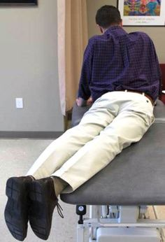 Learn about the McKenzie Method exercise that is used to treat back pain on one side of the spine.