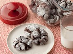 Get Chocolate Gooey Butter Cookies Recipe from Food Network