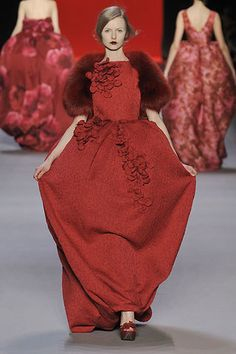 Giambattista Valli Fall 2008 Ready-to-Wear Fashion Show - Kamila Filipcikova