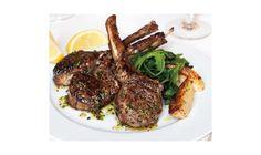 Grilled Lamb Chops with Kokkari Dressing