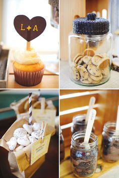 Party Theme: Rustic Couples Shower - Desserts