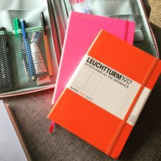 Latest edition to the Leuchtturm1917 family-ambly 🍊