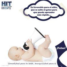 """Creciendo con Hit Baby1: """"¿Es favorable para el bebé saltarse el gateo para que pueda aprender más rápido?"""" ¡Falso!. Todos los bebés deben pasar por el proceso del gateo, ya que el gateo le ayuda a fortalecer y desarrollar los músculos de las piernas, brazos, espalda, cuello. #bebés #crecimiento #desarrollo #embarazo #cuidados"""