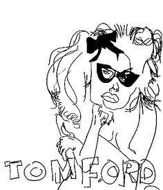 belle BRUT sketchbook: #tomford #fashion #style #illustration #blindcontour  © belle BRUT 2014 http://bellebrut.tumblr.com/post/93743371160/belle-brut-sketchbook-tomford-fashion-style