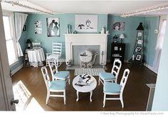 Keri Kay's Charming Photography Studio - Tour via iHeartFaces.com