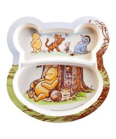 Look at this #zulilyfind! Classic Pooh Plate - Set of Two by Winnie the Pooh #zulilyfinds