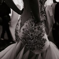 Luxury wedding dress- There is a reason why we named this gown Thank you for capturing the amount of details on this Jewelry haute couture dress Dress Vestidos, Prom Dresses, Yes To The Dress, Dress Up, Gown Dress, Couture Dresses, Fashion Dresses, Runway Fashion, Fashion Show