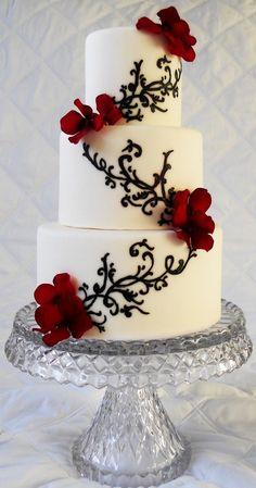 Image on Designs Next http://www.designsnext.com/social-gallery/wedding-cakes-21