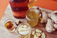 homemade whiskey ginger