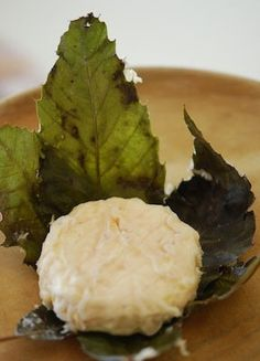 Banon de Chalais hails from the sunny and windswept hillsides of Provence. This lovely little cow's milk cheese is wrapped in fresh chestnut leaves that are briefly steeped in brandy. Still young and fresh flavored, it absorbs the delicate, subtle vegetal flavors of the leaves. The leaves turn brown when the cheese has reached its peak ripeness. You will find that this mild cheese is a versatile cheese with several wine types, especially the white wines of the Rhône valley. One piece wei...
