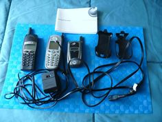 Lot of 3 Old phone, Motorola i88, Motorola i850 Ericsson T62U FOR PARTS #MotorolaEricsson