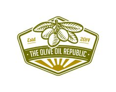 The Olive Oil Republic is a new store in Miami and the main product we offer is the highest quality extra virgin olive oil purchased directly from farmers in Greece.  #Branding #Logo #Identity