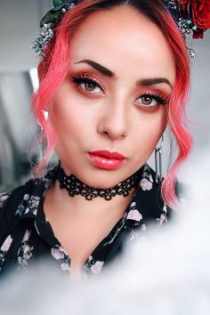 #COLOR ME PINK Dying Your Hair, My Hair, Hot Pink Hair, Colorista, My Routine, Street Style Blog, Edgy Look, Dry Shampoo, Blonde Hair