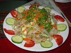 Nộm sứa - jelly fish salad