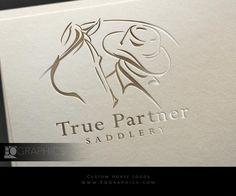 Custom Logo Design by Top Equestrian Logo Graphic Designer EQ Graphics