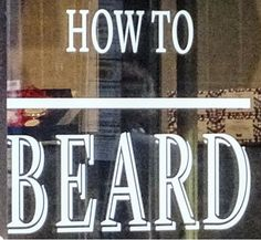 The Millennial Guide To Beards!