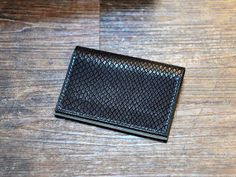 By GonenLeather Full leather card holder made from embossed black leather (cover) and mat sandy soft red leather (lining and inner folds). Distressed Leather, Red Leather, Handmade Wallets, Credit Card Wallet, Leather Cover, Emboss, Hand Stitching, Leather Wallet, Initials