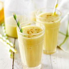 Frisse sinaasappel-yoghurtshake met anijs