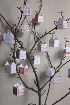 Advent calendar (advent tree)