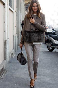 fur trim sweater                                                                                                                                                                                 Plus