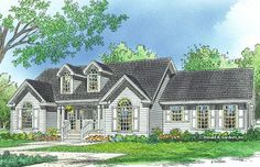 House Plan The Preston by Donald A. Gardner Architects