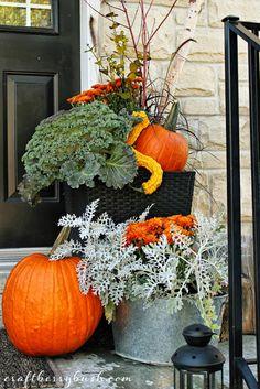 Craftberry Bush: Fall Front Porch