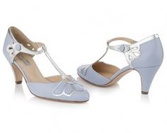 Your perfect Bridal shoes for your 'Something Blue' ......