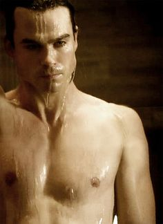 Ian Somerhalder (also known as the most gorgeous man on earth).