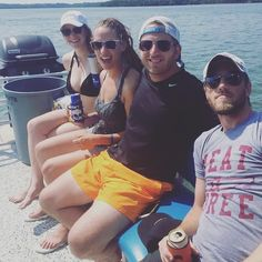Last boat picture we swear! When you work with a team as fun as ours how can we not brag!? #southincnashville #team #squadgoals #summeradventures #onthewater
