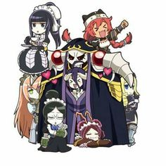 Overlord Chibi Pleiades #Overlord