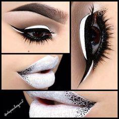".@Christina Parga | •••Black & White••• Lips - @NYX Cosmetics ""Milk"" Jumbo Pencil, B... | Webstagram"