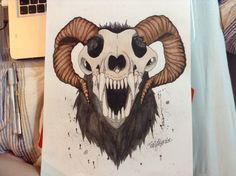 wolf skull front - Google Search