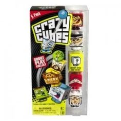 The latest craze, Crazy Cube Toy's.