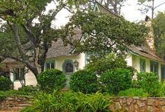 "In 1925 , Hugh Comstock built his own home ""OBERS""Carmel"