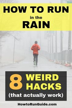 Running in the Rain: 8 Strange Tricks that Actually Work 8 weird (but effective) running hacks to make running in the rain less sucky. Don't let rain ruin your training! Learn To Run, How To Start Running, How To Run Faster, Running Hacks, Running Routine, Running Workouts, Running In The Rain, People Running, Trail Running