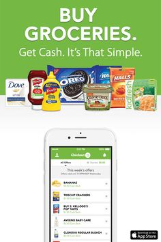 Checkout 51 helps you save big on the groceries you already buy every week. Simply download the Checkout 51 app, browse the offers, upload your receipt and you'll earn cash back. Yes, real cash! Install the free app to find out how much you could be saving.