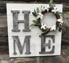Rustic Farmhouse Sign Farmhouse HOME Sign Fixer Upper