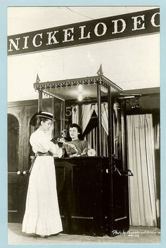 Grogan Photo Co., Danville, IL - Cinema at Museum of Science & Industry Chicago Illinois postcard - Photo by Alexander and Associates - c1940.