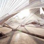 Marrakesh Biennale Pavilion by Barkow Leibinger
