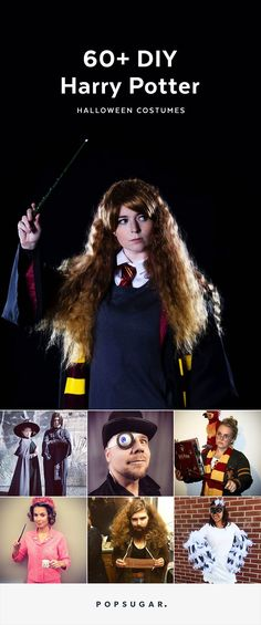 Harry Potter fanatics, consider these simple DIY Halloween costumes from your favorite movie series.