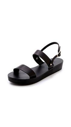 clio platform sandals