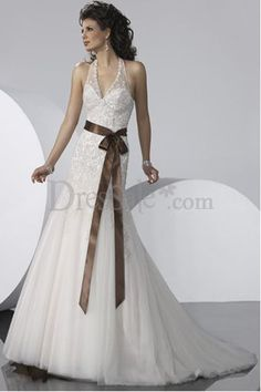 Definitely going to have a brown bow on my wedding dress.