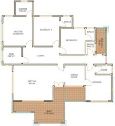 Blue Kitchen Designs, House Construction Plan, Roof Cleaning, Pool Installation, Public Bathrooms, Roof Styles, Floor Layout, Roof Plan