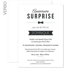 Invitation Fete Surprise Adulte 30 Ans Pinterest Birthday