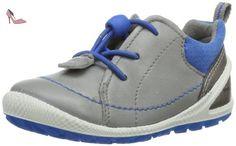 Ecco  Biom Lite Infants Wild Dove/Dynasty Fe/T, chaussures premiers pas mixte enfant - Gris - Grau (WILD DOVE/DYNASTY 58301), 22 EU - Chaussures ecco (*Partner-Link)