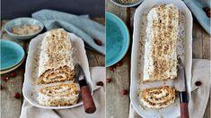 Jestli máte rádi mrkvové dorty, určitě vyzkoušejte i tuto roládu! French Toast, Rolls, Food And Drink, Bread, Breakfast, Roll Cakes, Morning Coffee, Buns, Brot