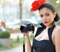 Camera Shots, Headset, Headphones, Romania, Celebrities, Makeup, Sexy, Model, Photography