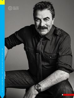 Sexy Old Dudes — Tom Selleck For GQ